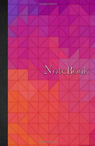 Download Notebook: Carnet de notes Ligné - A5 - 110 pages - Watercolor Motifs Géométriques - Bleu - Rouge - 110 pages, couverture souple glossy Dot point, ... planning, organizer, journal (French Edition) pdf