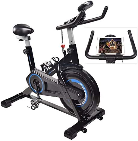 FULLWATT Exercise Bike Indoor Cycling Bike Stationary Spin Belt Drive