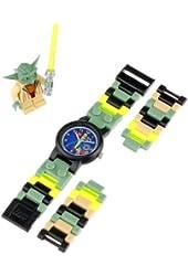"""LEGO Kids' 8020295 """"Star Wars Yoda"""" Watch with Link Bracelet and Figurine"""