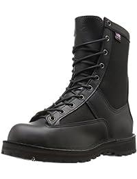 "Men's Acadia 8"" Black Military & Tactical Boot"