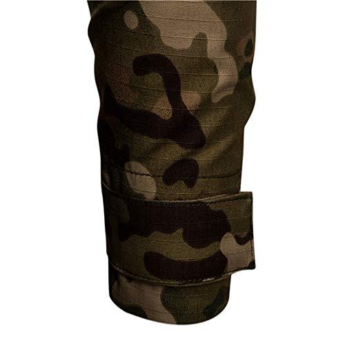 SFYZY Hoodie Veste Sweat Lourd Camouflage Zipper Workerhoodie Pull Veste Tactique Militaire Outdoor Randonnée Chasse… 5
