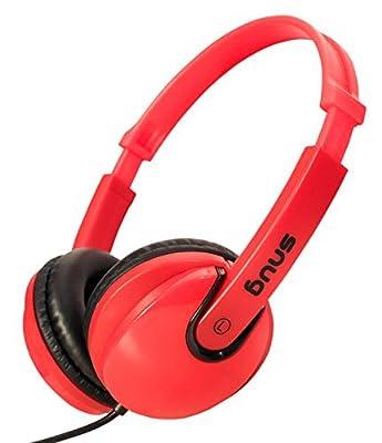 Snug Plug n Play Kids Headphones for Children DJ Style