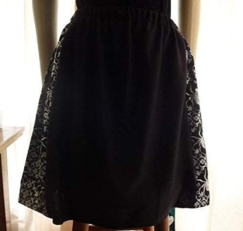 Black Skirt with Exclusive Spider Print Pattern (Exclusive Spider)