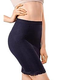 MD Women's Shapewear Short Fitted Waist And Hips Half Slip Skirt Body Shaper