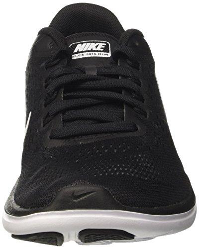 Nike Flex 2016 RN, Scarpe da Corsa Uomo Nero (Black / White / Cool Grey)