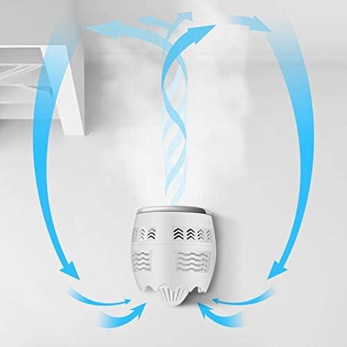 LYYCEU Portatile Regolabile Mini USB di Ricarica Air convezione Ciclo Desktop Ventilatore Air Cooler, Supporto di Controllo di 2 velocità (Nero) Q (Color : Black) Black Gold