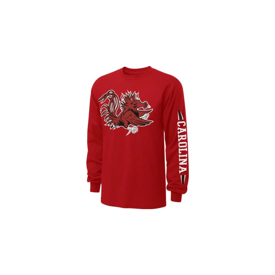 South Carolina Gamecocks Red Power to the People Long Sleeve T Shirt