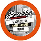 Brooklyn Beans Maple Sleigh Decaf Coffee Pods for Keurig K Cups Coffee Maker, 40 Count