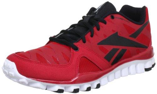 Reebok REALFLEX TRANSITION 3.0 - Zapatillas de correr de material sintético hombre rojo - Rot (EXCELLENT RED/BLACK/WHITE)