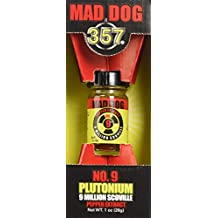 Mad Dog 357 No. 9 Plutonium 9 Million Scoville Pepper Extract, 1oz
