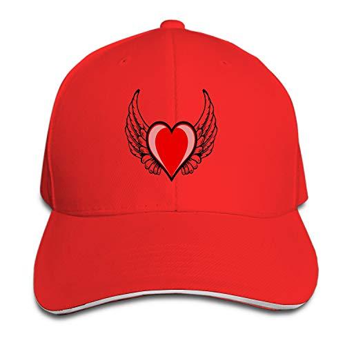 Under Cabelas Armour - Peaked hat Heart Adjustable Sandwich Baseball Cap Cotton Snapback