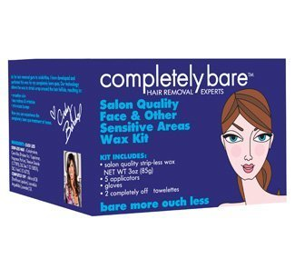 Salon Quality Face & Other Sensitive Areas Wax Kit By Completely Bare