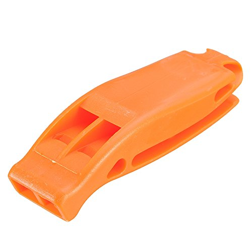 Mens Stock Half Helmet (Ezyoutdoor Plastic Sport Gymnasium Whistle for the Coaches Referee Football Coach Basketball Soccer Hockey for Hunting Storm Safety Survival Adventure (orange))