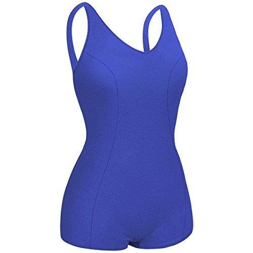 Kiefer 900107-Ryl-48 Female P.E. Swim Suit, Size 48, Royal