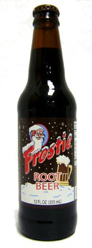 (Retro)Frostie Root Beer Made with Real Cane Sugar 12 Pack ()