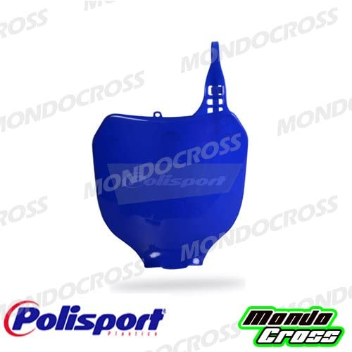 MONDOCROSS Tabella portanumero anteriore POLISPORT Blu yam98 Colore OEM YAMAHA YZ 125 00-04 YZ 250 00-04 YZ 250 F 01-04 YZ 426 F 01-02 YZ 450 F 03-04