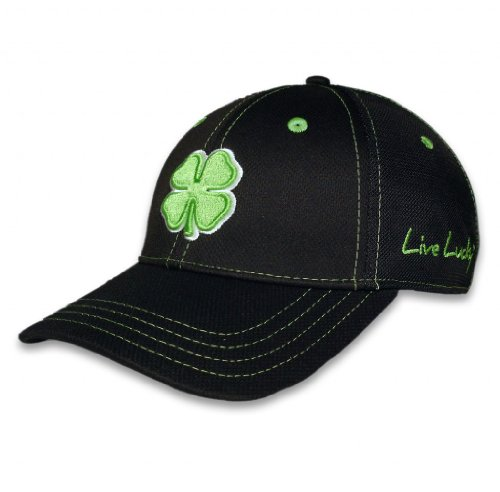 Black Clover Premium Fitted Hats - (Stretch Fit Golf Hat)