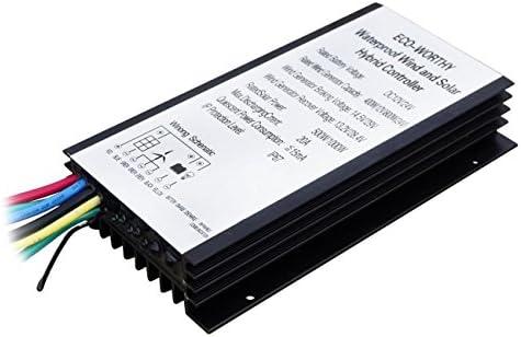ECO-WORTHY 400 W 20 A 12 V/24 V Windturbine Solarpanel Hybrid Controller