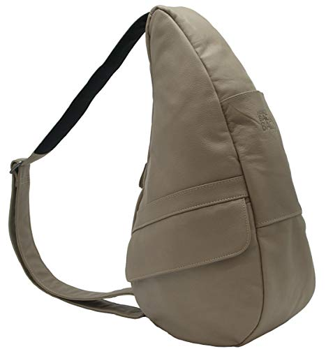 - AmeriBag Classic Healthy Back Bag tote Leather Small (Taupe)