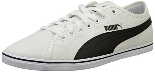 01 CV Blanco Unisex ELSU black V2 Zapatillas Adulto Puma White qB14p4