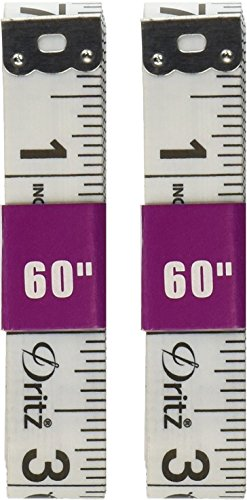 1 Pack Dritz Tape Measure for Sewing, 5/8 by 60-Inch (2 Pack)… by Dritz