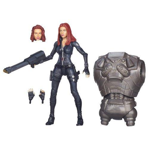 Captain America Winter Soldier Marvel Legend 6 inches action figure / Black Widow (movie version) (direct import version)