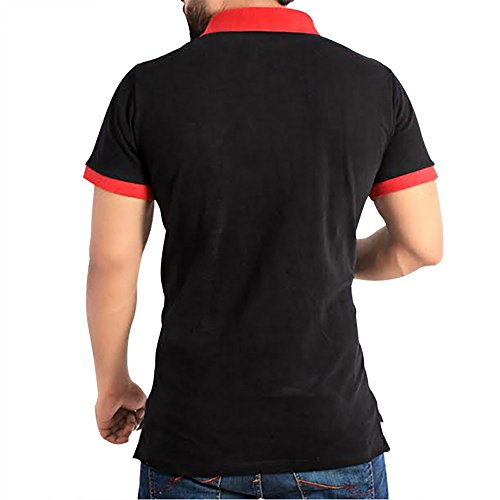 Men's Black Stylish Polo Shirt for Summer by QZS Clothing ...