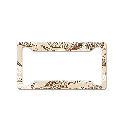 shell license plate frame - 8