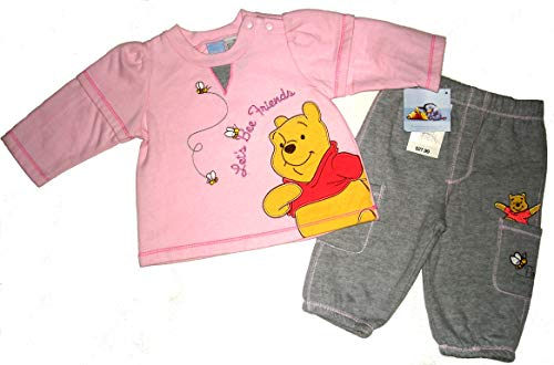 Winnie the Pooh Disney's Let's BEE Friends Infant Girls Pant Set~ 3-6M Pink