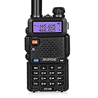 BaoFeng UV-5R Dual Band Two Way Radio Black