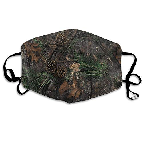 LSJGG TrueTimber Mixed Pine Camo Printing Anti Pollution Face Mask Anti-dust Mouth Mask for Women and Men -