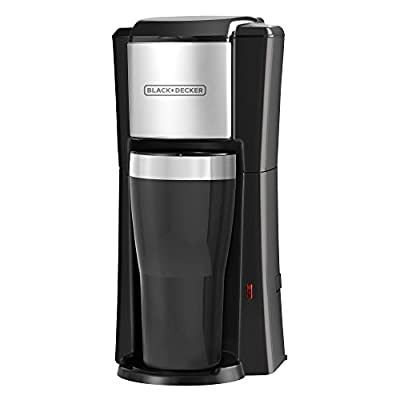 Single Serve Coffeemaker, Black, CM618