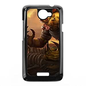 HTC One X Cell Phone Case Black League of Legends Hyena Warwick PD5288857