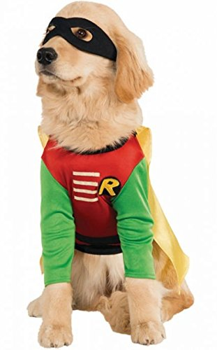 Pet Robin Costumes (Robin Costume - Medium)