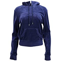Part of the FENTY® PUMA® by Rihanna Collection. Royalty should be treated as such. Make the world your kingdom with PUMA® x Fenty ®. Pull-over sweatshirt.  Hooded design with adjustable drawstrings. Long sleeves with ribbed cuffs. Front kanga...