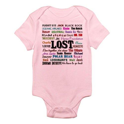 CafePress - LOST TV Infant Bodysuit - Cute Infant Bodysuit Baby Romper (Infant Tv)