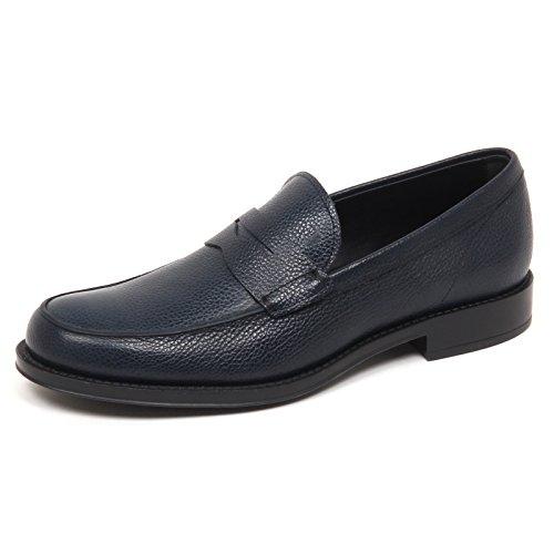 Mocassino Man Uomo Scarpe Blu Effect Blu Bicolor E5076 Loafer Shoe Dark Scuro Tod's vaqx1Z5ngn