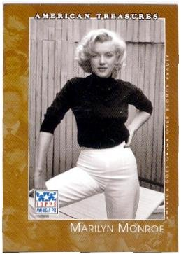 Marilyn Monroe trading card (Sex Symbol Actress) 2001 Topps American Pie #121 ()