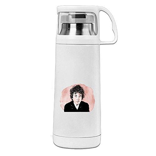 Ranger Joe Mug (Bekey Bob Dylan Head Stainless Steel Vacuum Travel Mug With Handle Cup Water Bottle)