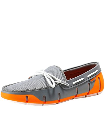 SWIMS Men's Stride Lace Loafers UK 7 Orange by SWIMS