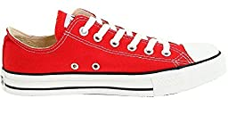 Converse Womens CT Basic OX Red 8.5 Womens