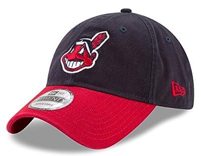"Cleveland Indians New Era MLB 9Twenty ""Twill Core Classic"" Adjustable Hat"