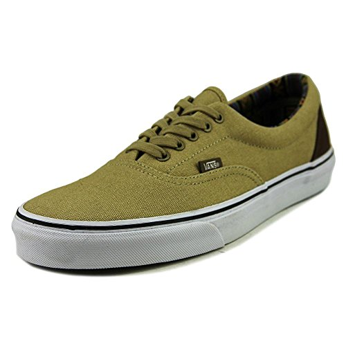 Vans Era, Zapatillas de skate Unisex Khaki True White