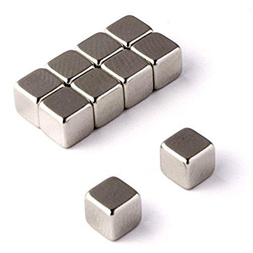 10pcs Square Cube Magnets (3/8