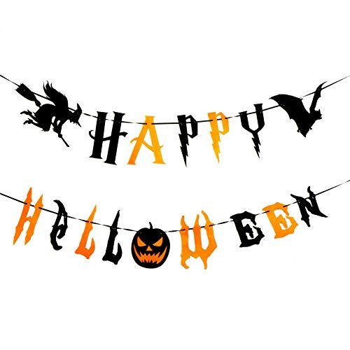 SpringPear 2X 3 Meter Horror Halloween Banner DIY Party Decoration]()