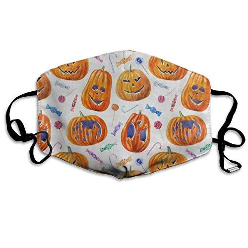 Anti Dust Mask Halloween Pumpkin Lollipop Candy Surgical