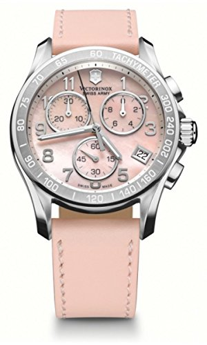 Victorinox Swiss Army Chrono Classic Mother of Pearl Women's Quartz Watch 241419