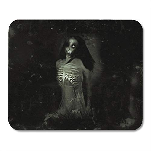 Semtomn Gaming Mouse Pad Anger Horror Spooky Scary