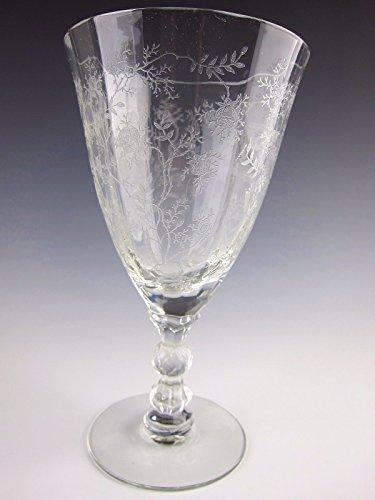Fostoria Crystal CHINTZ Low Water Goblet(s) (Chintz Fostoria)