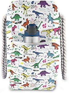 ビーチバッグ ビーチトートバッグ 恐竜柄 プールバッグ ショッピング 軽量 旅行 アウトドア 大容量 トイレタリー 手提げバッグ ピクニック 水泳バッグ 海水浴 温泉 ポケット付き リゾート